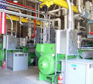 BCUA's Installed GE Jenbacher JMS 420 Cogeneration System