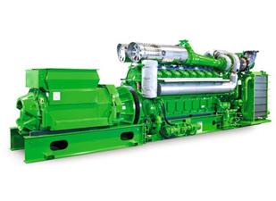 GE Jenbacher Type 6 Gas Engine Generator
